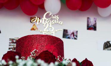 Decoração de Festa Italiana + #CrisMoreira25