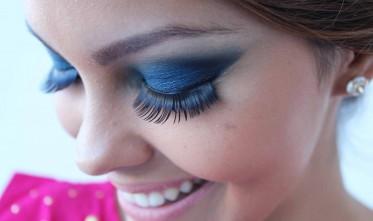 Cabelo e maquiagem de princesa na Mulher Cheirosa