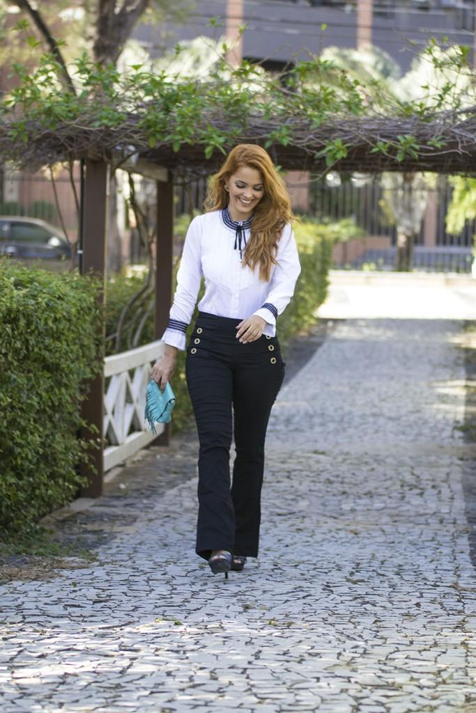 Blog Cris Moreira - como usar blusa com gola de laço - 4